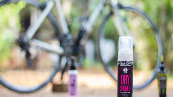 muc off dry shower review