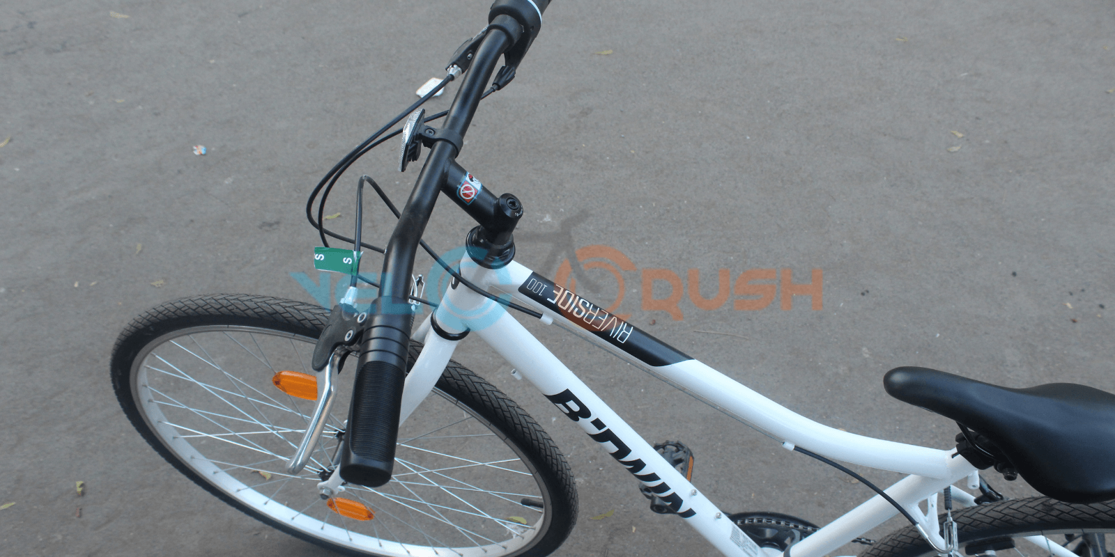 Btwin Riverside 100 Hybrid Cycle [Price & Review] - Velocrushindia