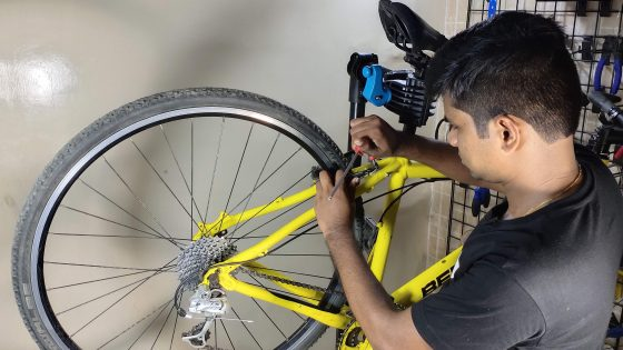 cycle repair shop