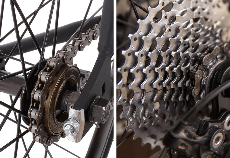 single speed cycle chain